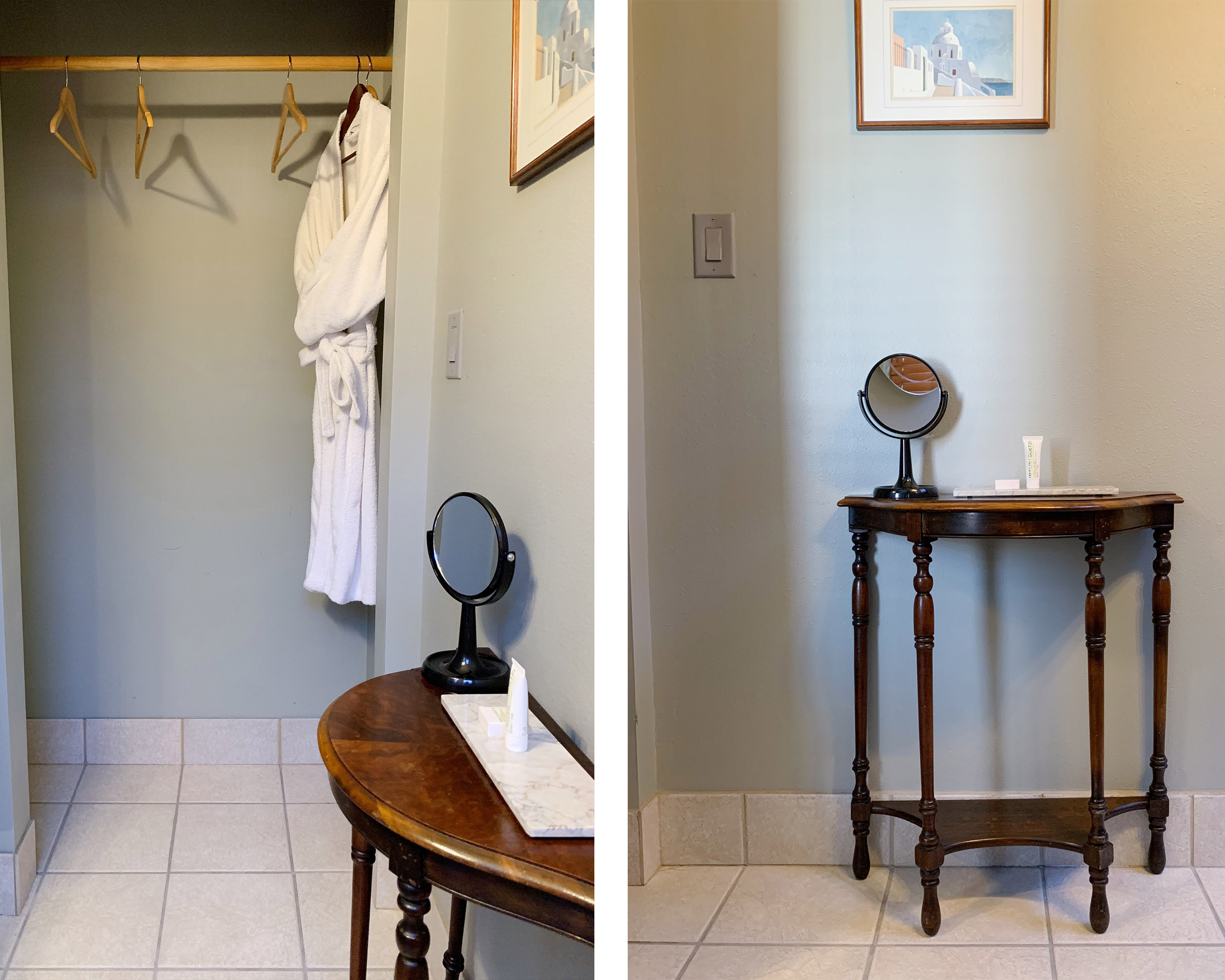bath and bath stand